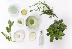 cosmétiques bio et ingrédients d'origine naturelle